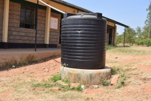 The Water Project:  Existing Water Tank