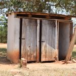 The Water Project: Ngaa Secondary School -  Girls Latrines