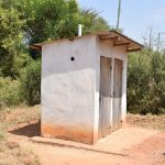 The Water Project: Ngaa Secondary School -  Staff Latrines