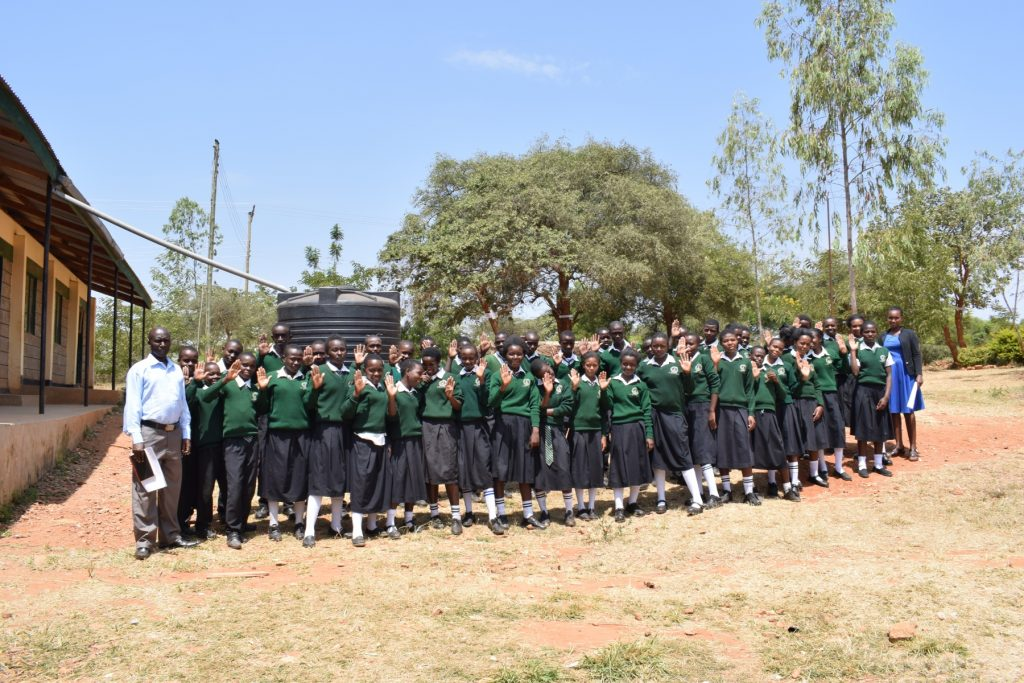 The Water Project : kenya18242-students