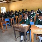 The Water Project: Ngaa Secondary School -  Students In Class