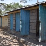 The Water Project: Kitooni Primary School -  Girls Latrines