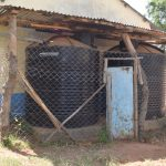The Water Project: Kitooni Primary School -  Plastic Rainwater Tanks