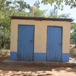 The Water Project: Kitooni Primary School -  Staff Latrines