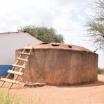 The Water Project: Muunguu Primary School -  Broken Down Rainwater Tank