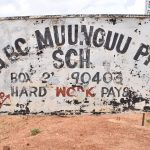 The Water Project: Muunguu Primary School -  School Sign