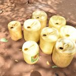 The Water Project: Muunguu Primary School -  Water Containers