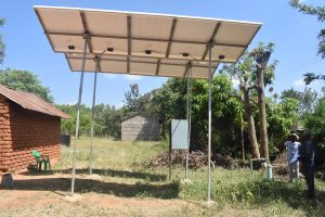 The Water Project:  Solar Powered Borehole