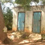 The Water Project: Kyaani Primary School -  Staff Latrines