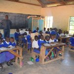 The Water Project: Kyaani Primary School -  Students In Class