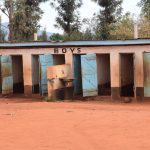 The Water Project: Mbuuni Primary School -  Boys Latrines