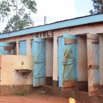 The Water Project: Mbuuni Primary School -  Girls Latrine
