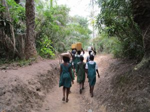 The Water Project:  Returning Home With Fetched Water