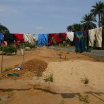 The Water Project: Komrabai Community, 35 Port Loko Road -  Clothesline