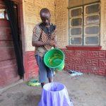 The Water Project: Komrabai Community, 35 Port Loko Road -  Filtering Water