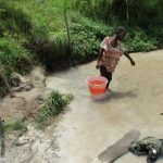 The Water Project: Komrabai Community, 35 Port Loko Road -  Hauling Water Out Of Source