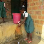 The Water Project: DEC Mathen Primary School -  Handwashing Station