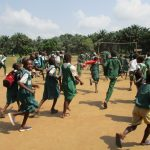 The Water Project: DEC Mathem Primary School -  Students Playing Outside