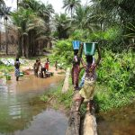 The Water Project: Upper Komrabai Community, 16 Wharf Road -  Carrying Water Home