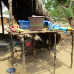 The Water Project: Upper Komrabai Community, 16 Wharf Road -  Dish Drying Rack