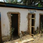 The Water Project: DEC Komrabai Primary School -  Abandoned Latrines