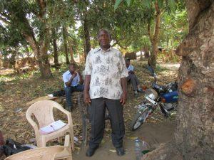 The Water Project:  Mr Abdul K Kamara