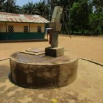 The Water Project: DEC Komrabai Primary School -  Well In Need Of Rehabilitation
