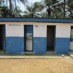The Water Project: DEC Komrabai Primary School -  School Latrine