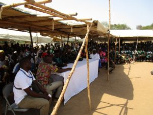 The Water Project:  A View Of The Many People Attending The Training