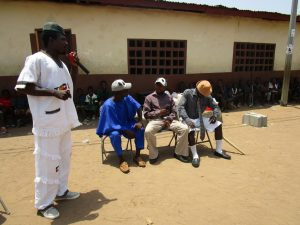 The Water Project:  Actors Carry Out Demonstration At Training