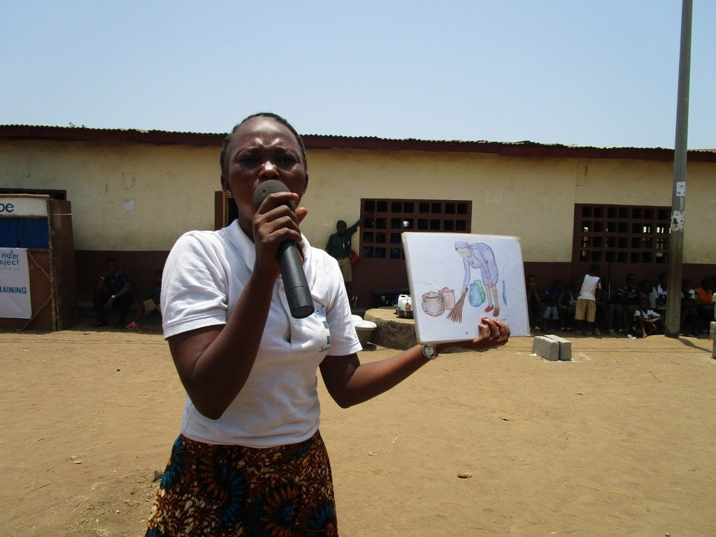 The Water Project : sierraleone18275-hygiene-training-facilitator