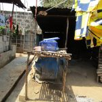 The Water Project: Tintafor Community, Shyllon Street -  Dish Drying Rack