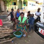 The Water Project: Tintafor Community, Shyllon Street -  Chopping Vegetables