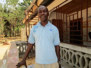 The Water Project:  Mr Foday M Kamara
