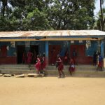 The Water Project: Pewullay Primary School -  Students In School Grounds