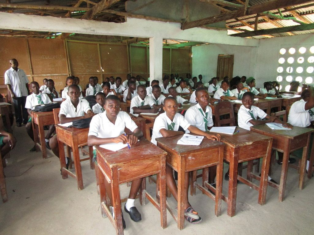 The Water Project : sierraleone18282-students-in-class