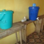 The Water Project: United Brethren Academy Secondary School -  Handwashing Station