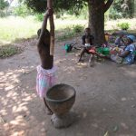 The Water Project: Moniya Community -  Child Shows How To Make Dinner