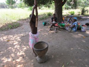 The Water Project:  Child Shows How To Make Dinner