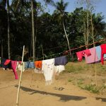 The Water Project: Moniya Community -  Clothesline