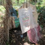 The Water Project: Moniya Community -  Bathshelter