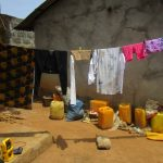 The Water Project: Kamasando DEC Primary School -  Clothesline