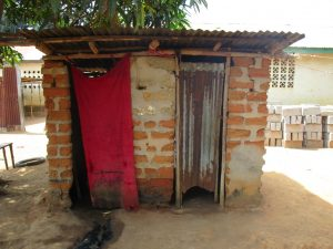 The Water Project:  Community Latrine