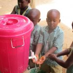 The Water Project: Kamasando DEC Primary School -  Handwashing Station