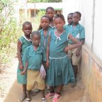 The Water Project: Kamasando DEC Primary School -  Students Pose
