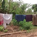The Water Project: Kyamudikya Community -  Clothes Hanging To Dry