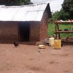 The Water Project: Kyamudikya Community -  Dish Drying Rack And Kitchen