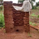 The Water Project: Kyamudikya Community -  Sample Latrine