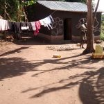 The Water Project: Alimugonza Community -  Clothes Drying On Line