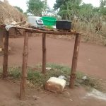 The Water Project: Katugo Community A -  Dish Drying Rack